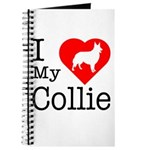 I Love My Collie Journal