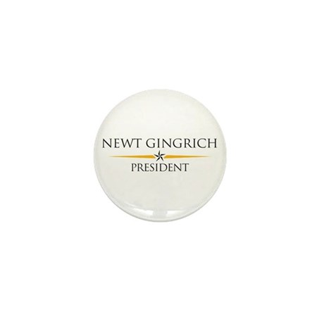 Newt Gingrich Mini Button (100 pack)