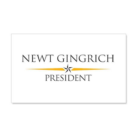 Newt Gingrich 22x14 Wall Peel