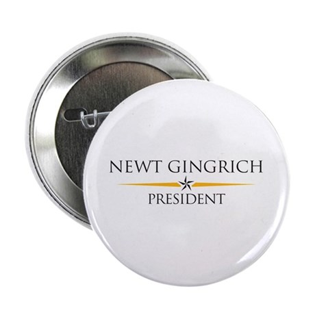"""Newt Gingrich 2.25"""" Button (10 pack)"""