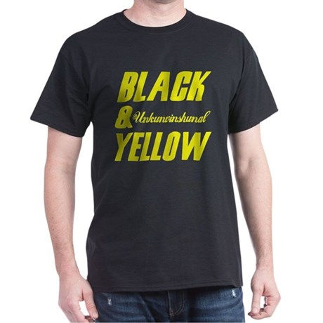 D-Major, Black & Yellow Tee