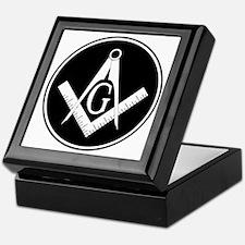 Square and Compass Keepsake Box