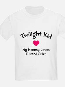 Heart TwiKid Mom T-Shirt