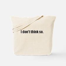 Funny Bold Tote Bag