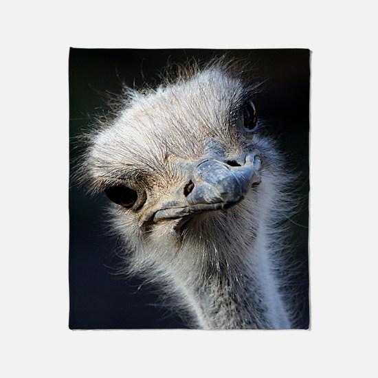 Ostrich Throw Blanket