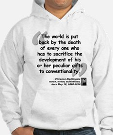 Nightingale Gifts Quote Hoodie