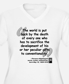 Nightingale Gifts Quote T-Shirt