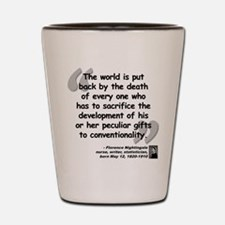 Nightingale Gifts Quote Shot Glass