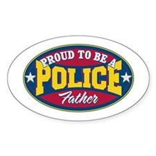 Proud to be a Police Father Decal