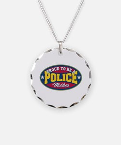 Proud to be a Police Mother Necklace