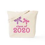 2020 Girls Graduation Tote Bag