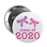 """2020 Girls Graduation 2.25"""" Button"""
