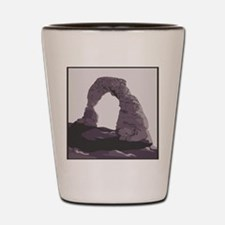 Cute Arches national park Shot Glass