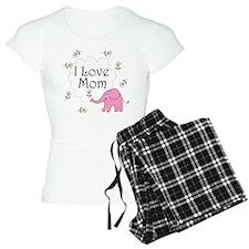 I Love Mom Pajamas