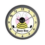 Busy bee clock Wall Clocks