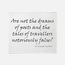 HPL: Dreams Throw Blanket