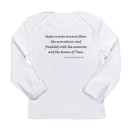 HPL: Ocean Long Sleeve Infant T-Shirt