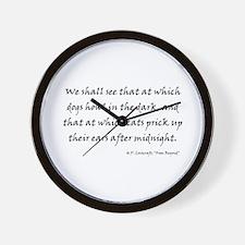 HPL: We Shall See Wall Clock