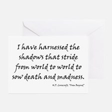 HPL: Shadows Greeting Cards (Pk of 20)