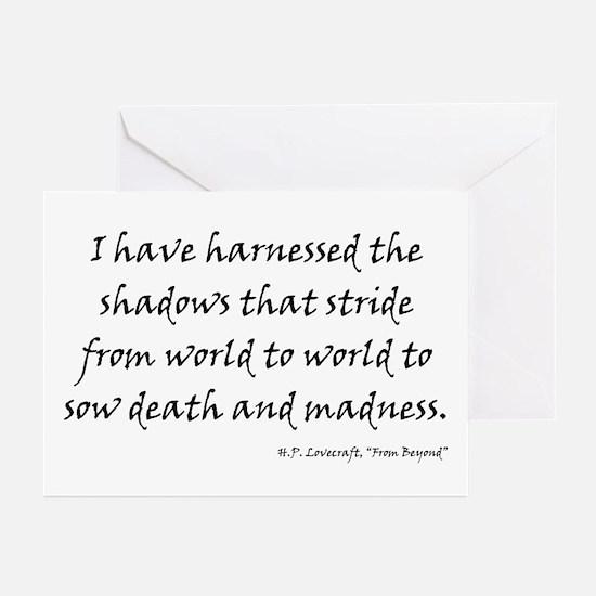 HPL: Shadows Greeting Cards (Pk of 20)