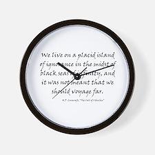 HPL: Ignorance Wall Clock