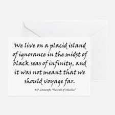 HPL: Ignorance Greeting Cards (Pk of 10)