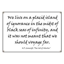 HPL: Ignorance Banner