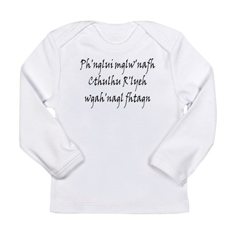 HPL: Ph'nglui Long Sleeve Infant T-Shirt