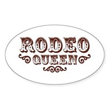 Rodeo Queen Oval Decal