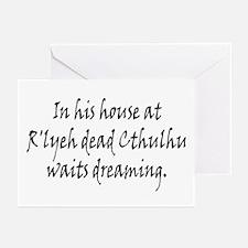 HPL: Cthulhu Greeting Cards (Pk of 20)