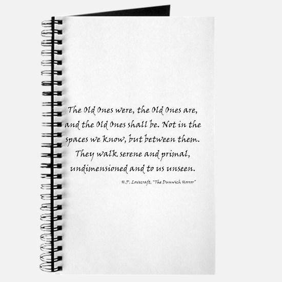 HPL: Old Ones Journal
