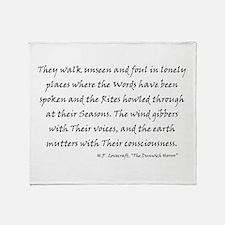 HPL: Unseen Throw Blanket