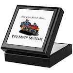 Too Much Muscle Keepsake Box