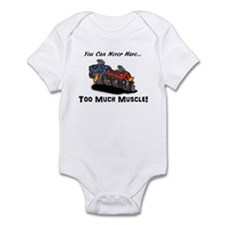 Too Much Muscle Infant Bodysuit
