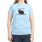 Too Much Muscle Women's Light T-Shirt