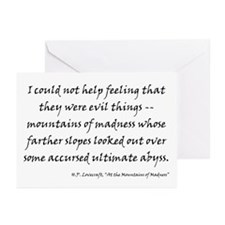 HPL: Madness Greeting Cards (Pk of 10)