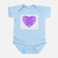 Big Diaper Infant Bodysuit
