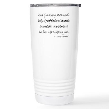 HPL: Nyarlathotep Stainless Steel Travel Mug