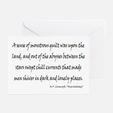 HPL: Nyarlathotep Greeting Cards (Pk of 10)