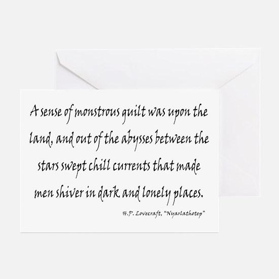 HPL: Nyarlathotep Greeting Cards (Pk of 20)