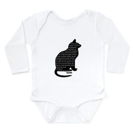 HPL: Cats Long Sleeve Infant Bodysuit