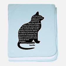 HPL: Cats baby blanket