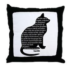 HPL: Cats Throw Pillow