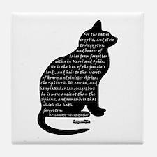 HPL: Cats Tile Coaster