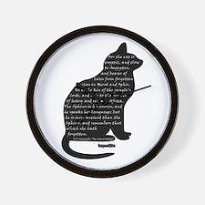HPL: Cats Wall Clock
