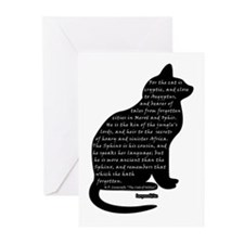 HPL: Cats Greeting Cards (Pk of 20)
