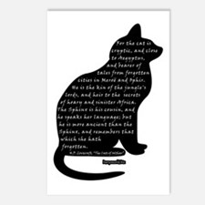 HPL: Cats Postcards (Package of 8)