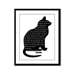 HPL: Cats Framed Panel Print