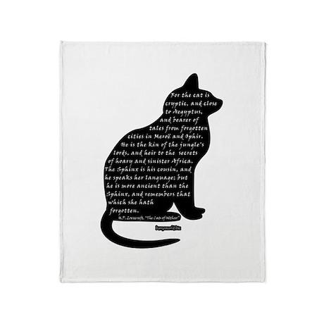 HPL: Cats Throw Blanket
