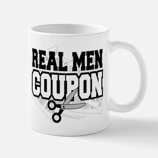 Real Men Coupon Mug
